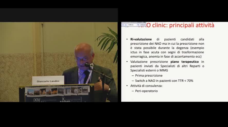 La NAO clinic: organizzazione e management del follow-up del paziente in terapia con i nuovi anticoagulanti orali