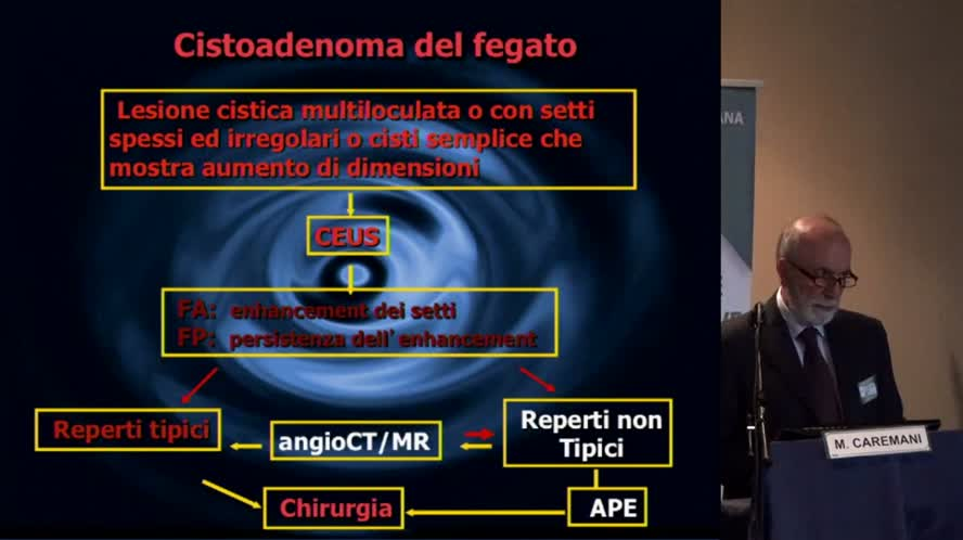 Inquadramento clinico-ecografico delle lesioni focali epatiche