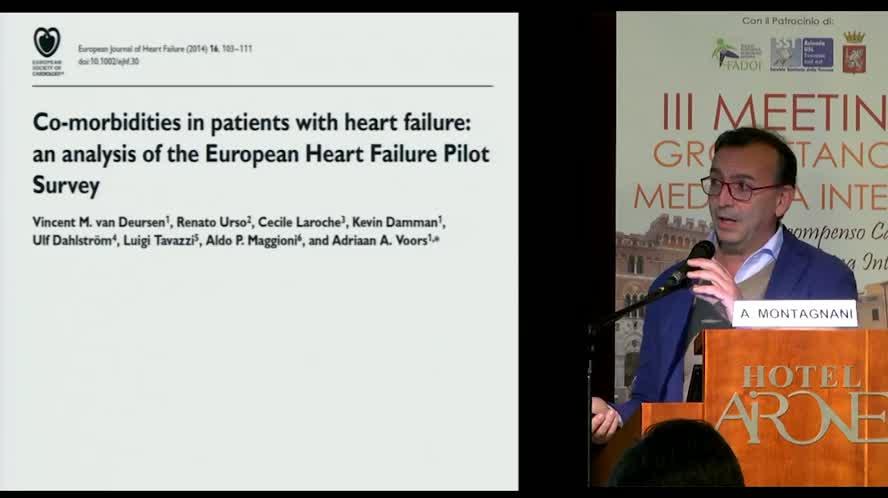 Influenza delle comorbilità sull'ospedalizzazione dei pazienti con Scompenso cardiaco