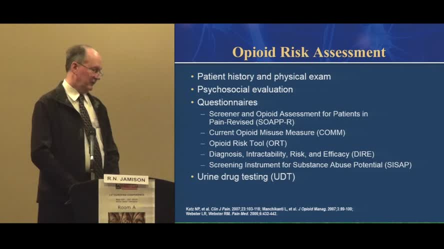 Opioid Compliance Maximizing Benefit and Minimizing Risk