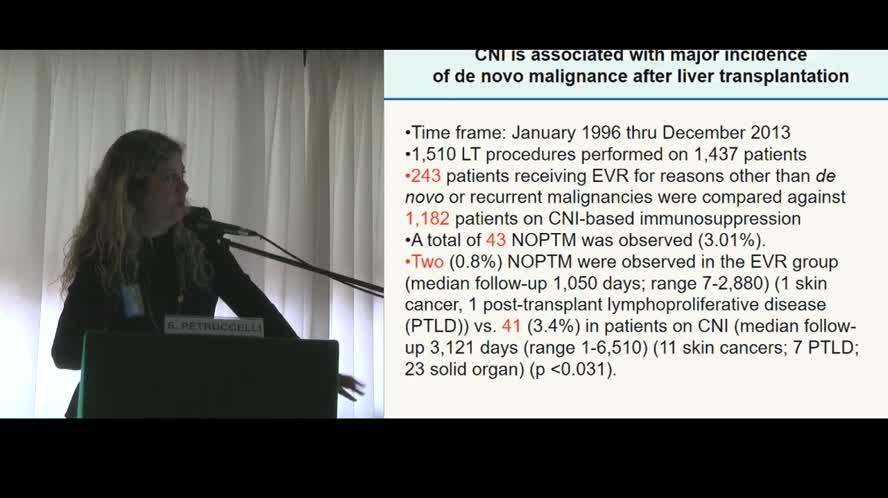 Approccio immunosoppressivo personalizzato dopo OLT