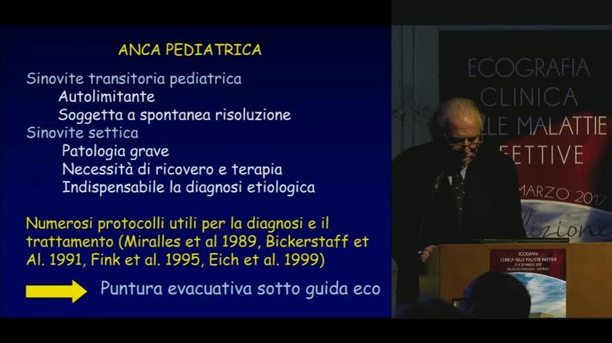 Ecografia nelle infezioni osteoarticolari