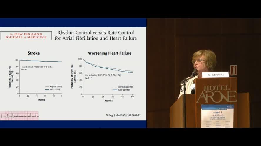 Gestione della fibrillazione atriale nel paziente con scompenso cardiaco