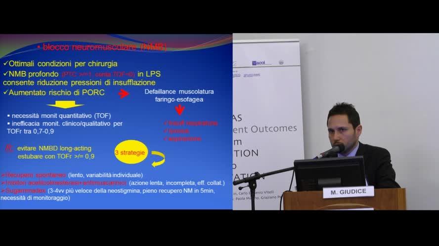 Gestione anestesiologica e monitoraggio