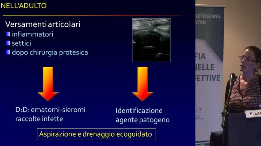 Ecografia ed imaging integrato nella gestione delle infezioni osteoarticolari