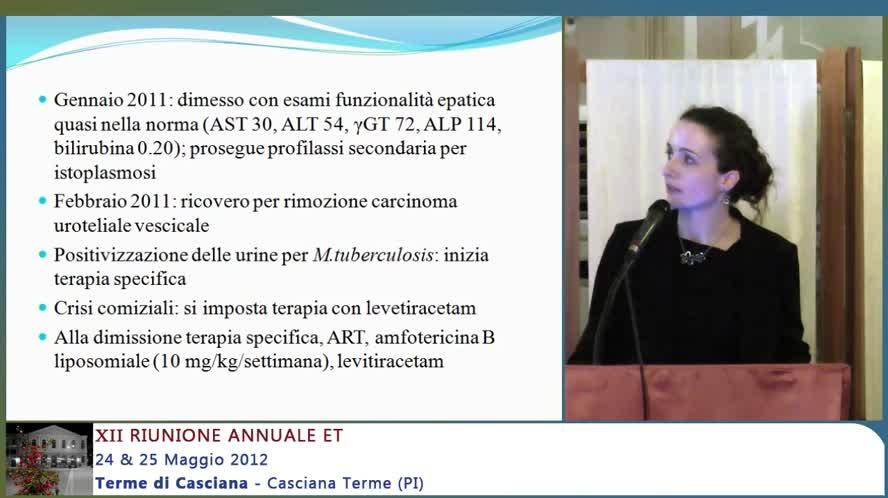 Cirrosi biliare primitiva in paziente hiv con recente istoplasmosi disseminata