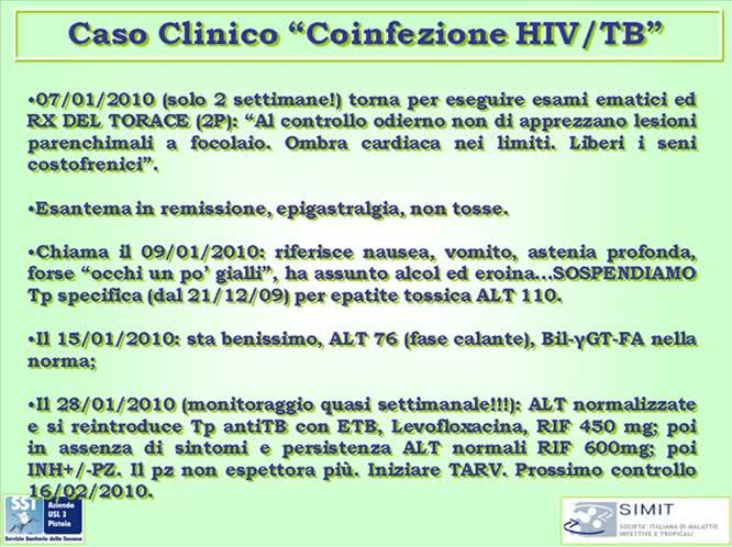 Presentazione III° Caso clinico