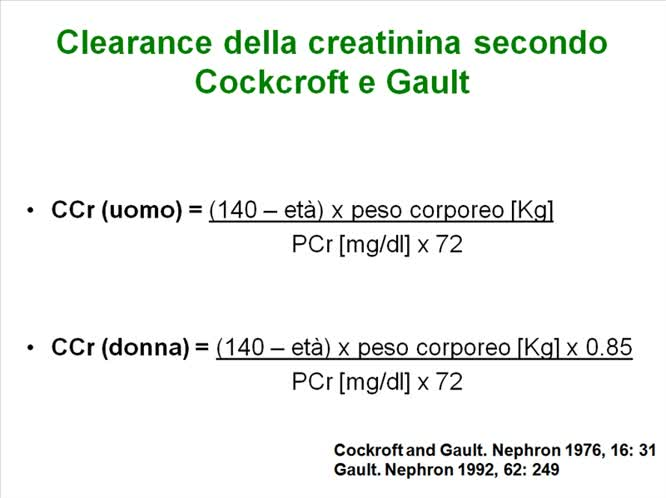 La funzione renale ed inibitori dell angiotensina 2