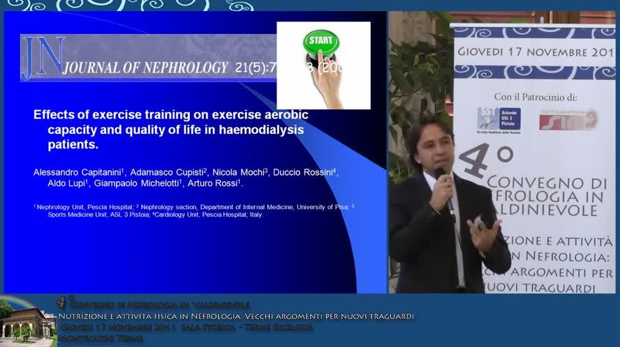 L' esercizio fisico nel paziente in dialisi