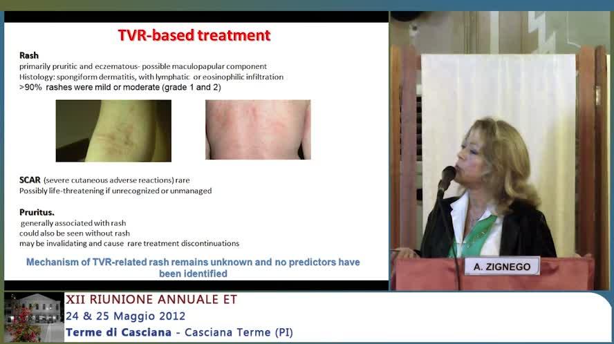 Nuovi farmaci per il trattamento dell'epatite C: Tollerabilità e gestione eventi avversi