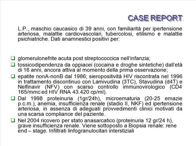 La dialisi peritoneale in corso di HCV HIV