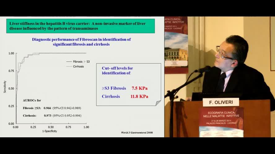 Valutazione non invasiva della fibosi epatica - Fibroscan