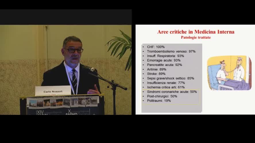 L'area critica in Medicina Interna