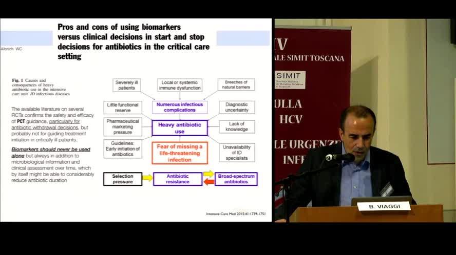 I markers biologici di infezione