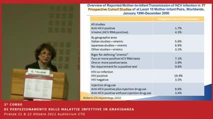 HCV in gravidanza