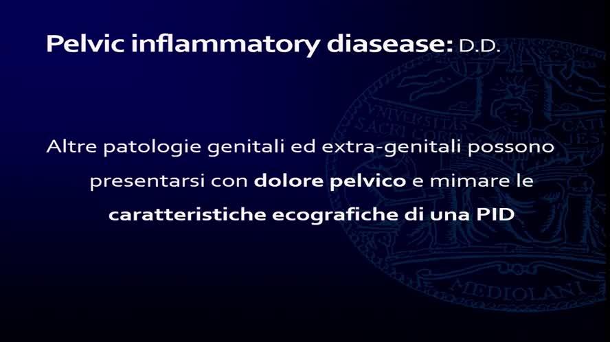 Infezioni pelvi femminile