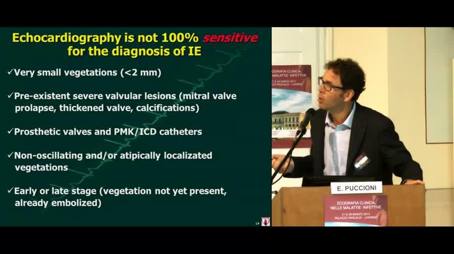Ecografia nelle patologie infettive cardiache