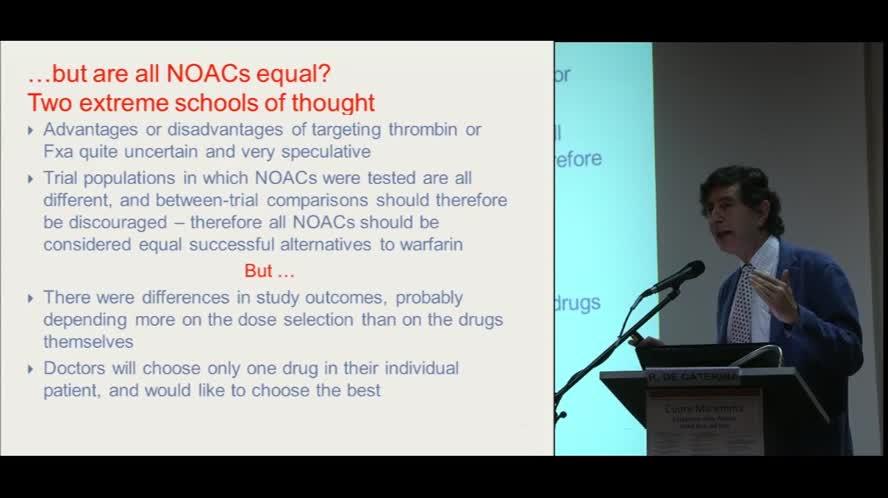 Nuovi anticoagulanti il sottile equilibrio tra rischio trombotico e rischio emorragico