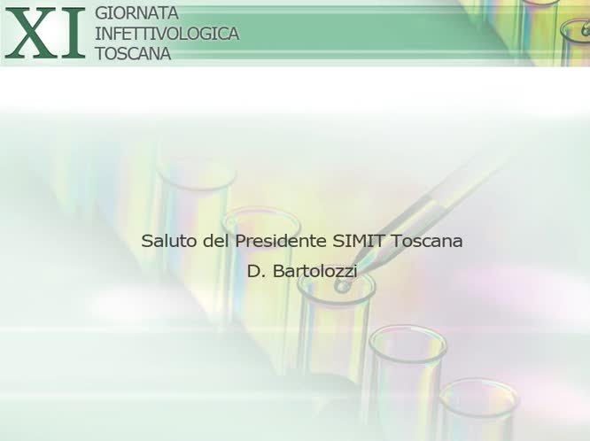 Saluto del Presidente SIMIT Toscana