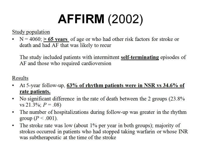 Trattamento della fibrillazione atriale nel giovane