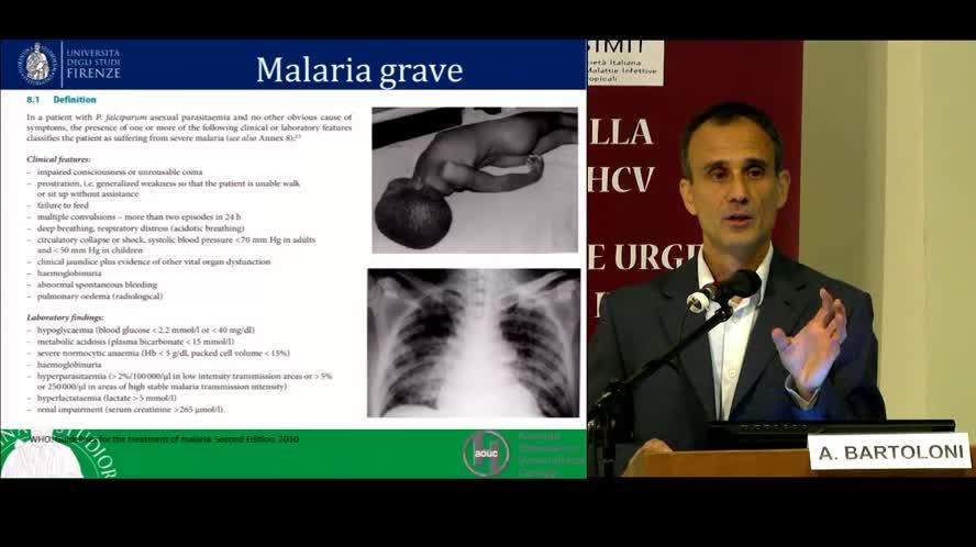 La malaria grave