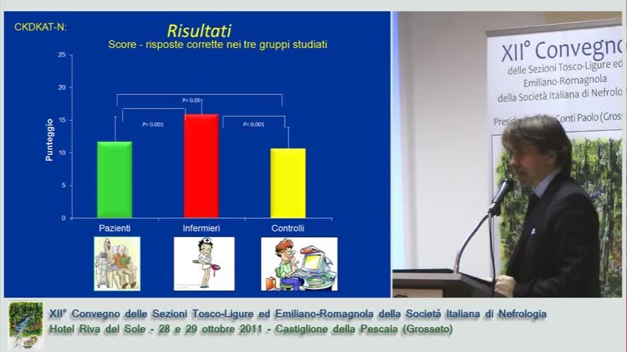 Conoscenze nutrizionali nei pazienti e infermieri di emodialisi focus sul fosforo
