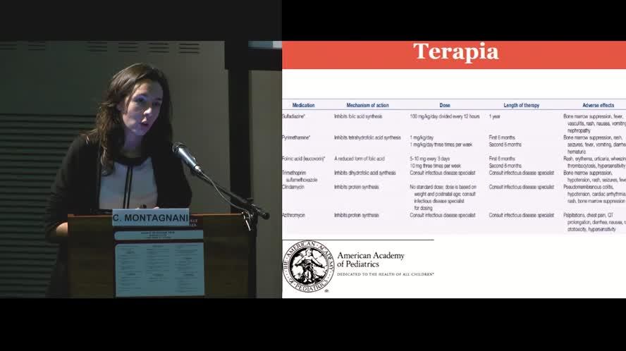 Gestione del bambino esposto alla toxoplasmosi in età neonatale
