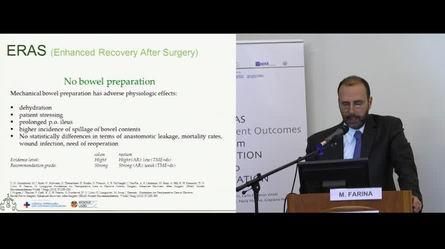 Principi ERAS in chirurgia generale
