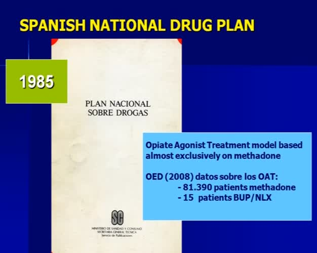 Opiate Addiction Treatment with Buprenorphine-Naloxone: current situation in Spain. An unquestionable reality