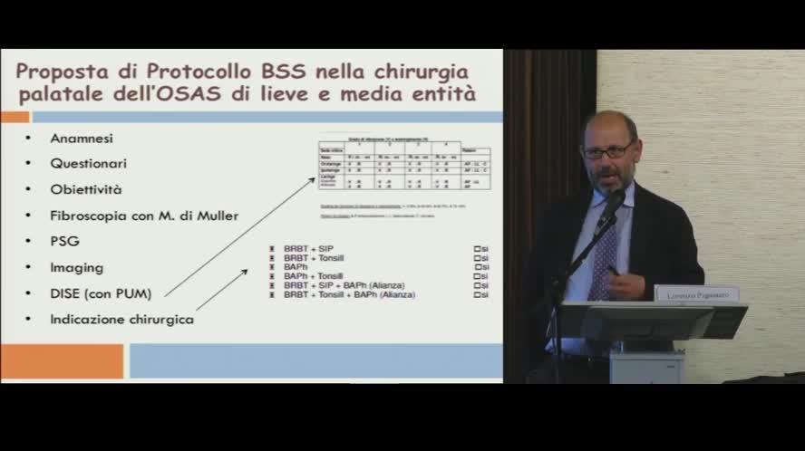 Proposta di Protocollo Barbed Snore Surgery nella chirurgia palatale dell'OSAS