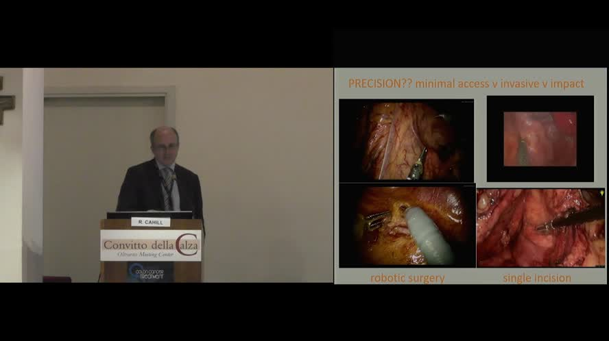 Impact of ICG Fluorescence in minimally invasive colon surgery