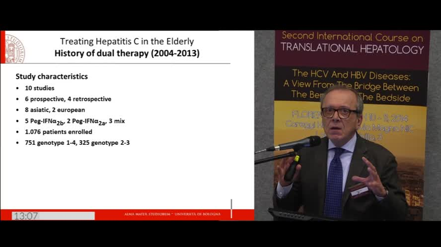 DAA treatment of HCV patients with advanced liver disease and/or age