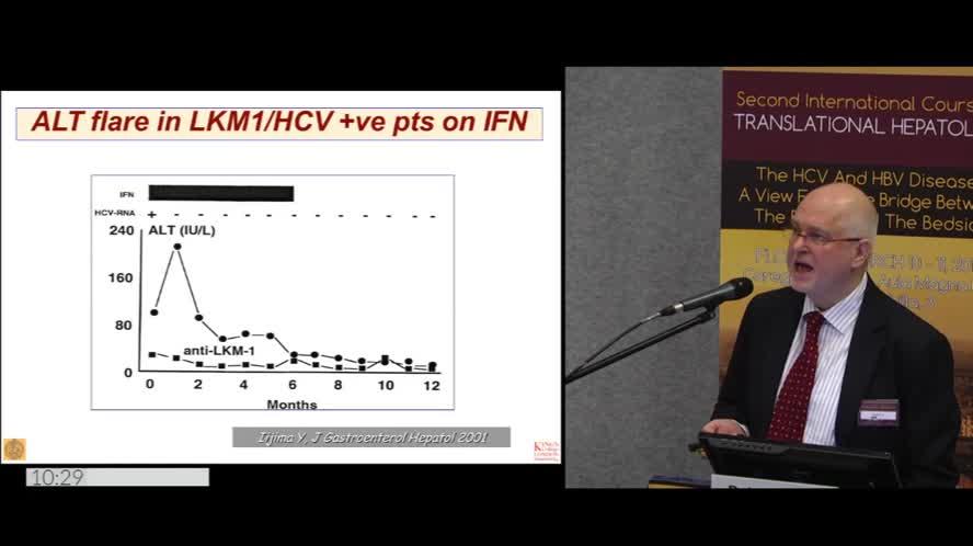 Autoreactivity in viral hepatitis
