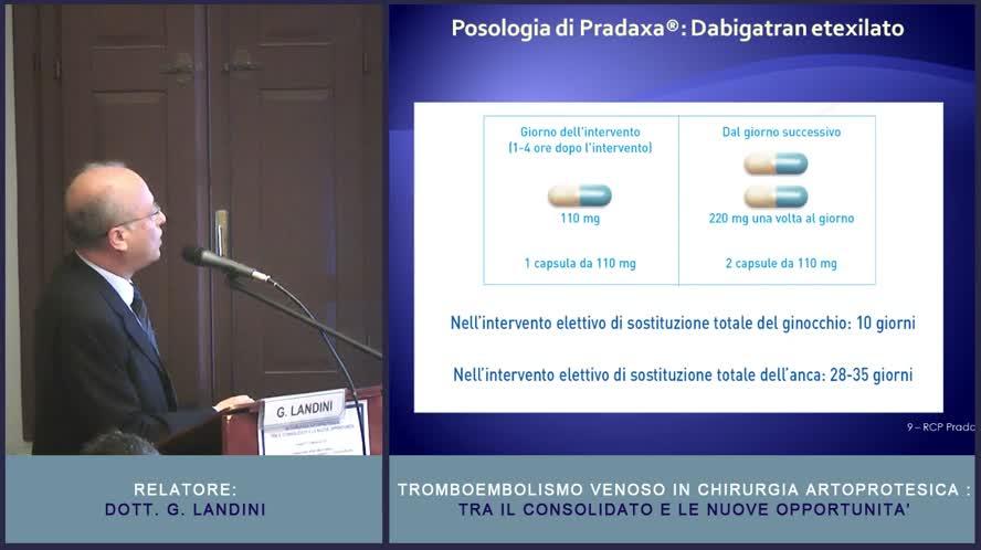 Nuovi farmaci antitrombotici orali Caratteristiche e risultati dei trials clinici nella chirurgia protesica di anca e ginocchio