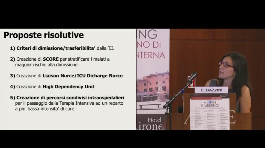 Transitional care: dalla terapia intensiva alla fase post-intensiva