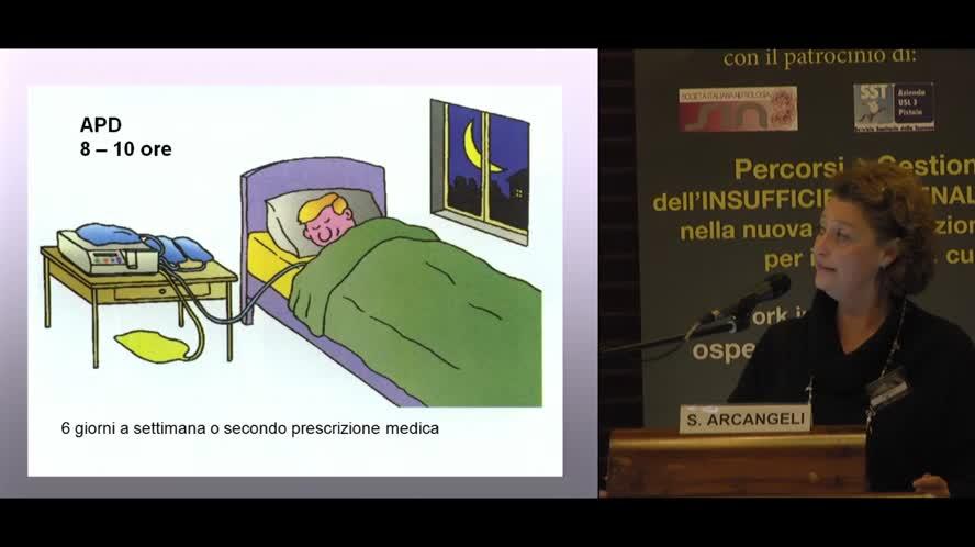 Gestione paziente in predialisi e dialisi peritoneale