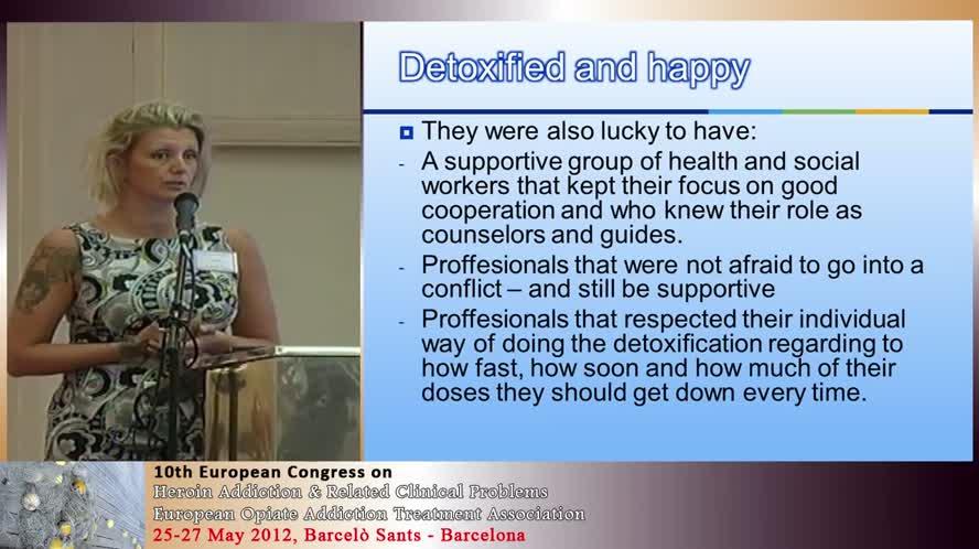 Detoxified and happy