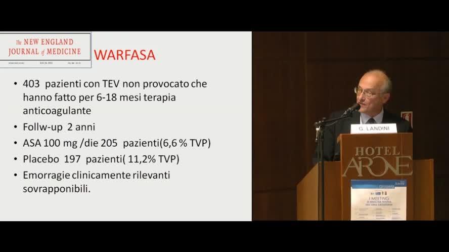 Terapia farmacologica del tromboembolismo venoso: nuove acquisizioni