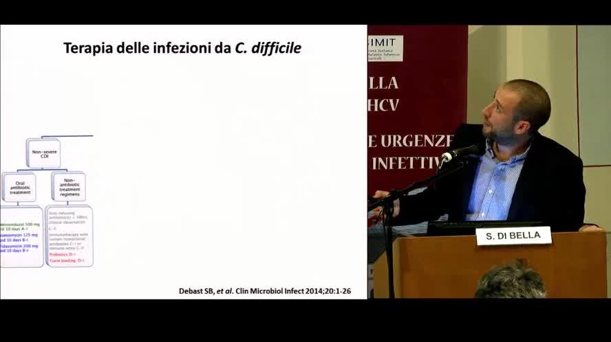 Infezione grave da Clostridium difficile