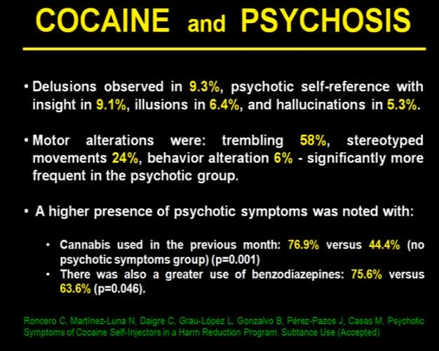 Heroin use and psychosis