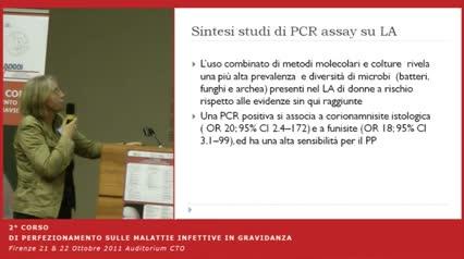 Diagnosi e management delle infezioni amniotiche (pROM e altro)