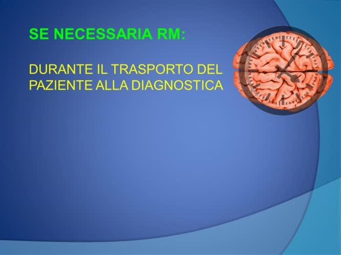 Ruolo dell'infermiere e dei tecnici di radiologia nell'ambito della rete: la neuroradiologia interventistica