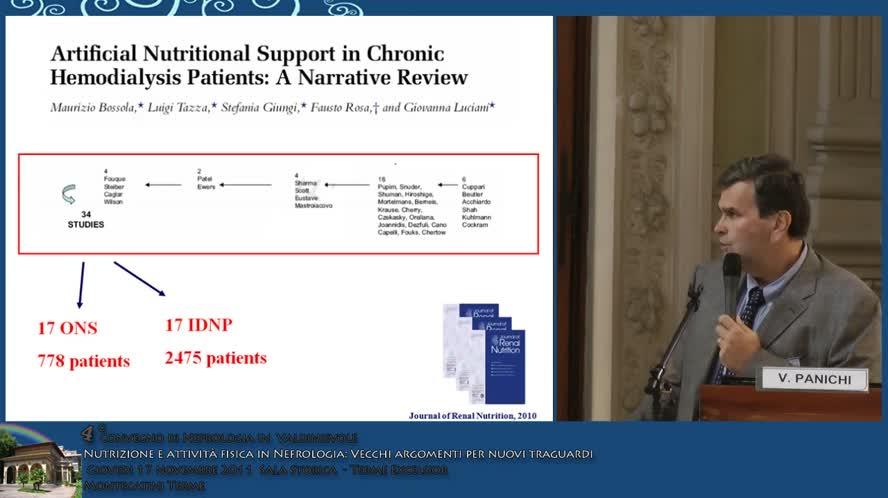 Novità in tema di terapia nutrizionale nella CKD La dialisi