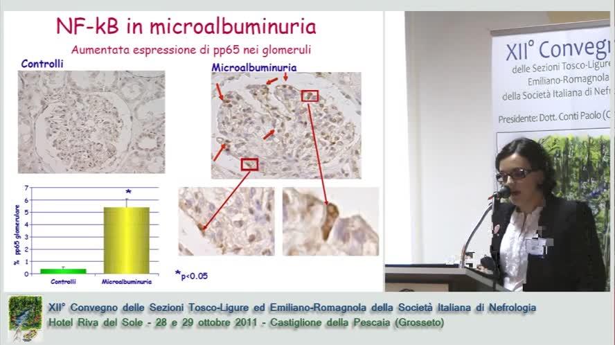 Ruolo dell'attivazione precoce di NF-kB e dei processi apoptotici glomerulari nella patogenesi della nefropatia del diabete tipo 2