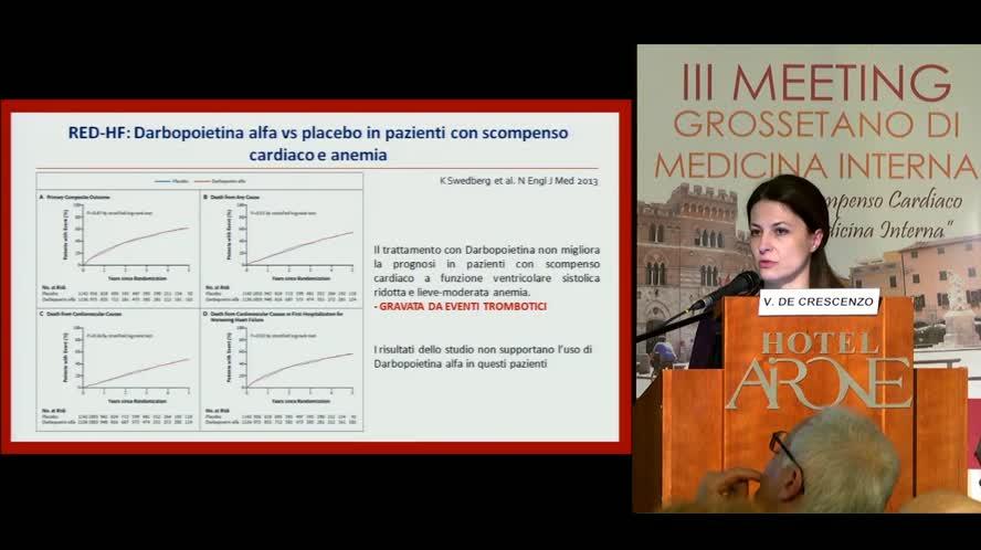 Anemie e deficit di ferro nello Scompenso cardiaco