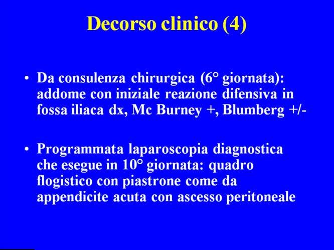 Peritonite batterica in paziente con cirrosi HBV correlata: un caso particolare