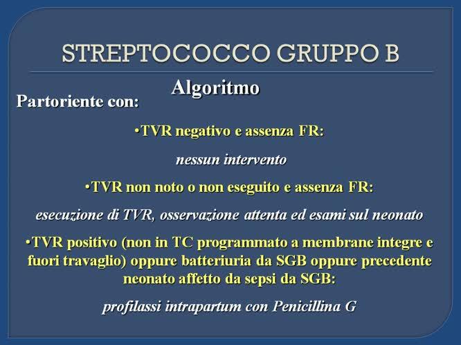 Discussione e proposta del protocollo toscano