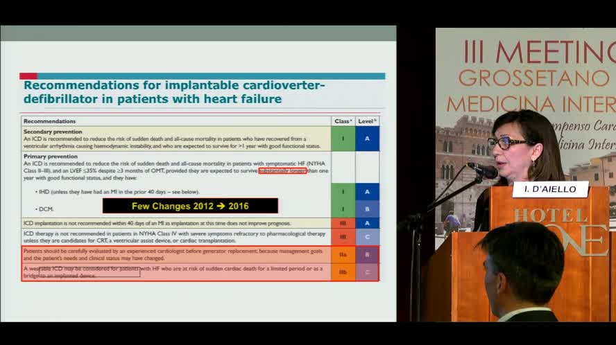Terapia non farmacologica per lo Scompenso cardiaco (RCT ICD Rivascolarizzazione)