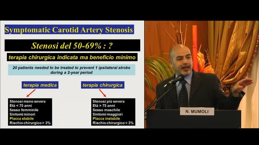Percentuale di stenosi e Morfologia di placca
