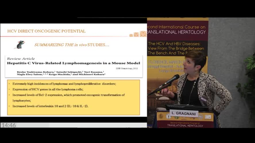 HCV and lymphoproliferative disorders